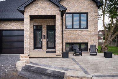 House Entry - custom home